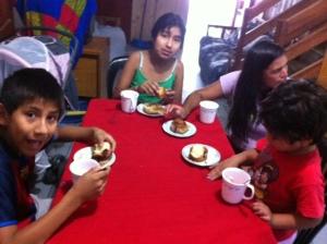 breakfast at pachacutec